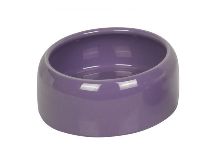 Miska hlod. keramická - fialová Nobby 500 ml