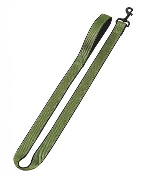 Vodítko neopren Classic reflect soft -zelené Nobby 2,0 x 120 cm
