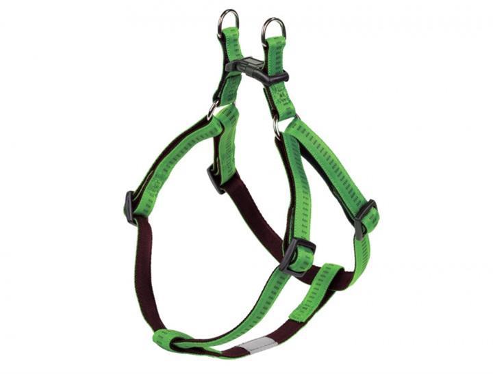 Postroj nylon soft Grip - sv. zelený Nobby 1,5 x 40-56 cm