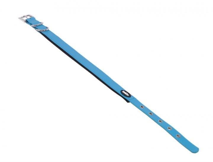 Obojek plast Cover - modrý Nobby 2,5 x 45-55 cm