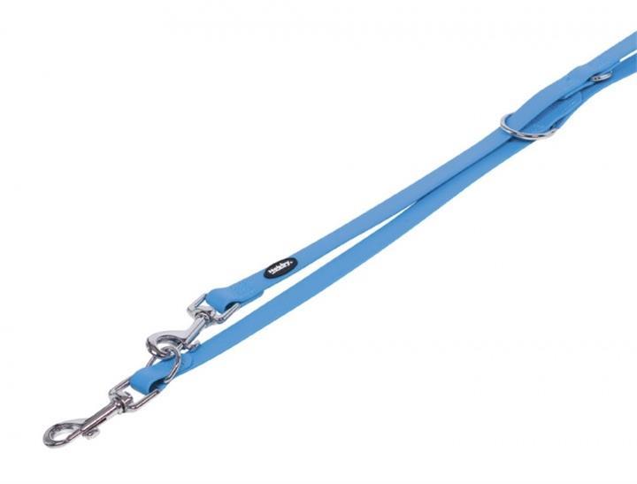 Vodítko plast Cover - modré Nobby 2,0 x 200 cm