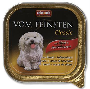 Animonda VomFeinsten Clas. dog van. - hovězí, krůtí, srdce 150 g