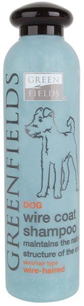 Greenfields šampon dog Wire coat shampoo 250 ml