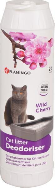 Deodorant do WC  - vůně  divoké třešně Flamingo 750 g
