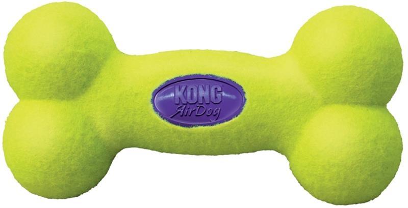Hračka tenis Air dog Kost pískací Kong large