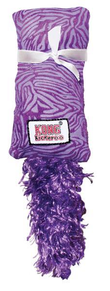 Hračka cat textil Pytlík s ocáskem Kickeroo Kong 1 ks