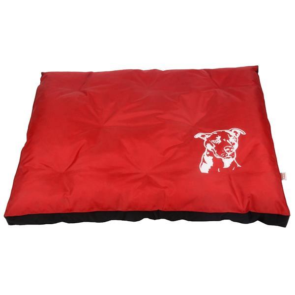 Matrace nylon Staford - červeno/černá 120 x 100 x 10 cm