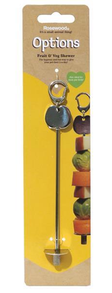 Držák kov na ovoce a zeleninu - Jehla Rosewood 1 ks
