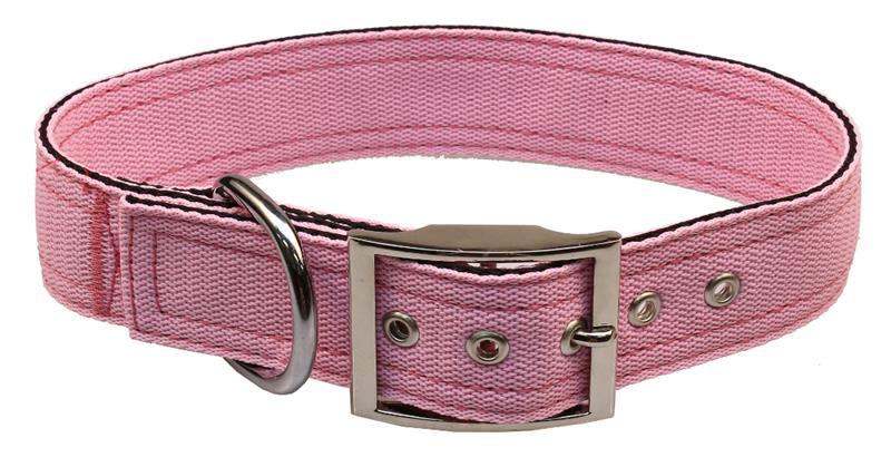 Obojek nylon růžový B&F 4,0 x 55 cm