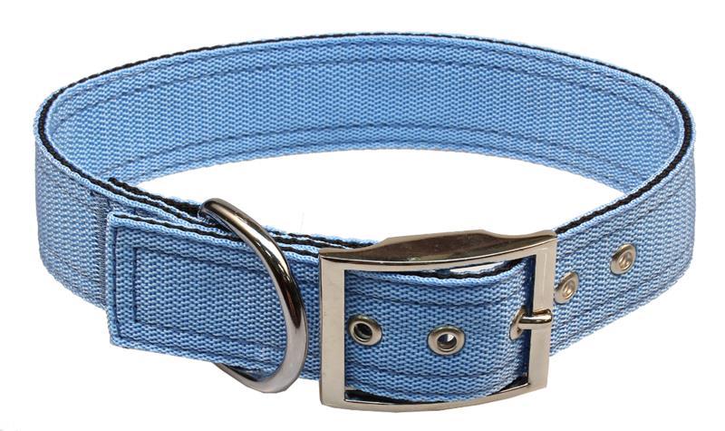Obojek nylon modrý B&F 4,0 x 60 cm
