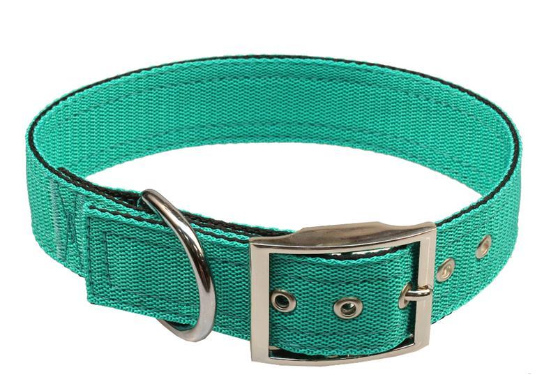 Obojek nylon zelený B&F 4,0 x 55 cm
