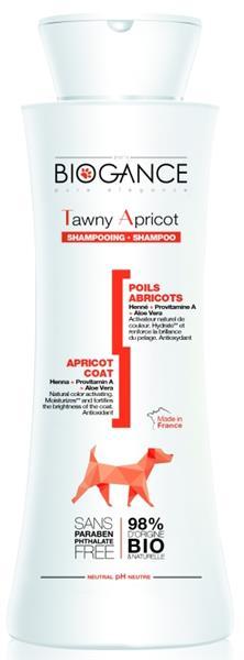 Biogance šampon Tawny apricot - pro žlutohněd.srst 250 ml