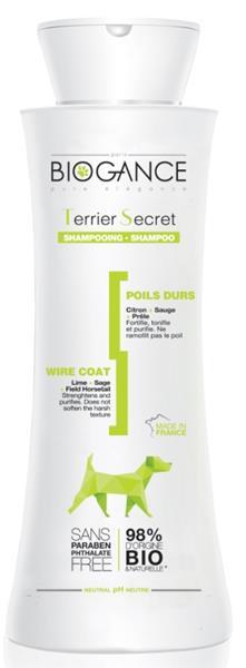 Biogance šampon Terrier secret - pro hrubou srst 250 ml