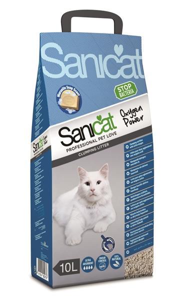 Sanicat Oxygen Power podestýlka 10L hrudkující