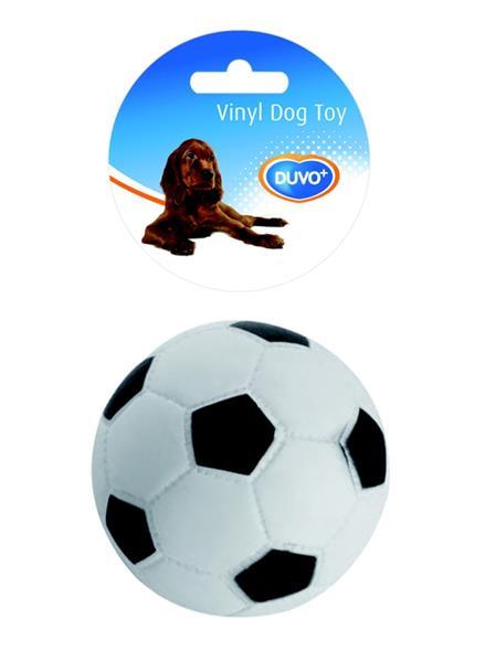 Hračka vinyl Míč fotbal DUVO+ průměr 10,5 cm