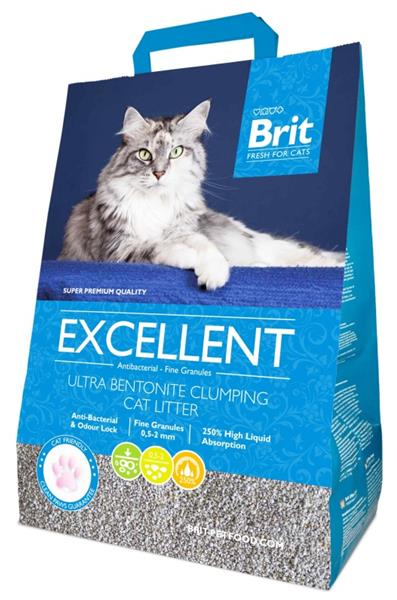 Podestýlka Cat Brit Fresh Excellent Ultra Bent. 5 kg