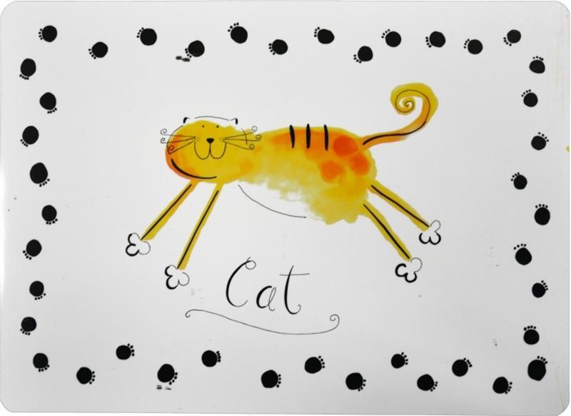 Podložka pod misku - kočka DUVO+ 1 ks