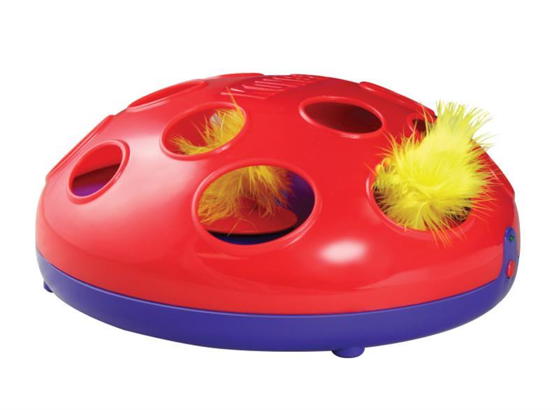 Hračka cat plast Disk magnetický Kong 1 ks