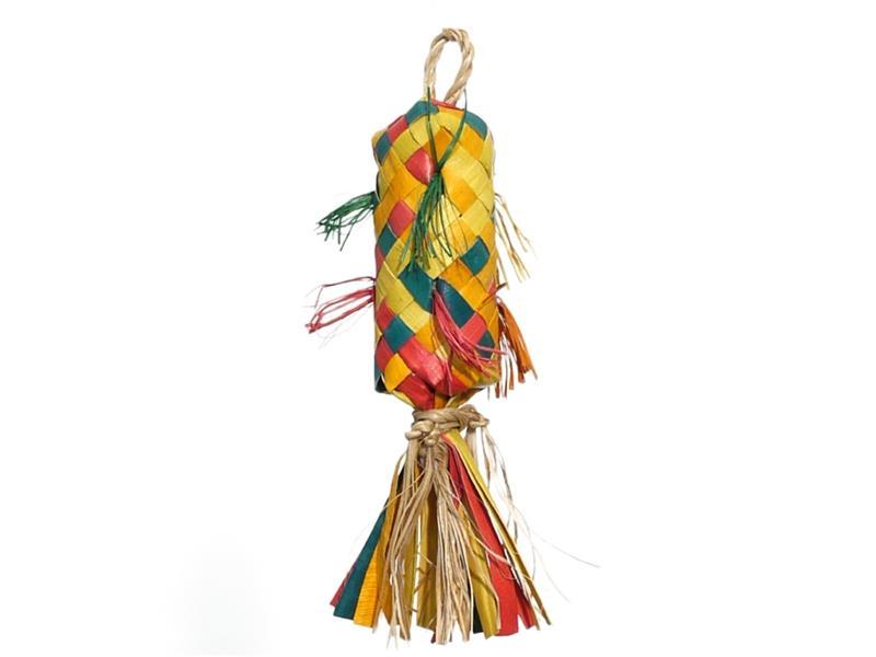 Hračka pták přírodní Pinata Rosewood 3x3x13cm