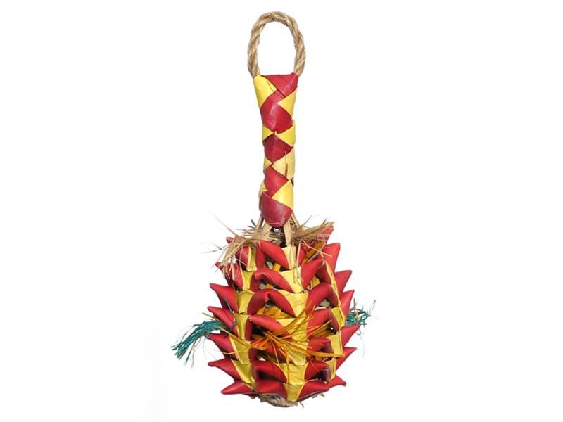 Hračka pták přírodní Ananas Rosewood 6 x 6 x 14 cm