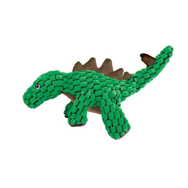 Hračka textil Dynos Stegosaurus zelený Kong small