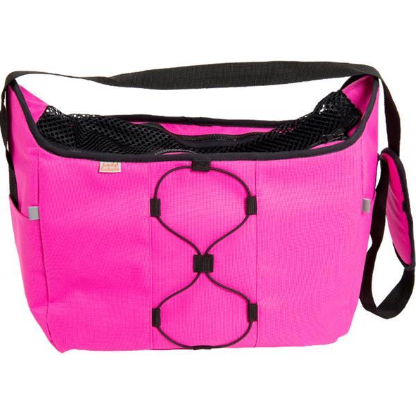 Transp. taška nylon Diana malinová 30 cm - do 5 kg