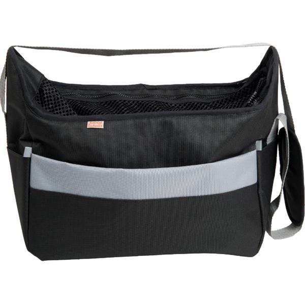 Transp. taška nylon Betty černá 30 cm - do 5 kg
