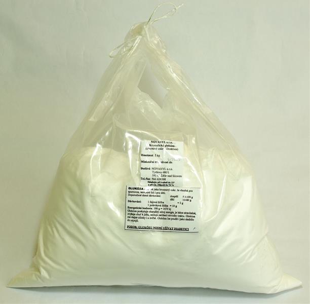 Krystalická glukóza balená plv 5kg