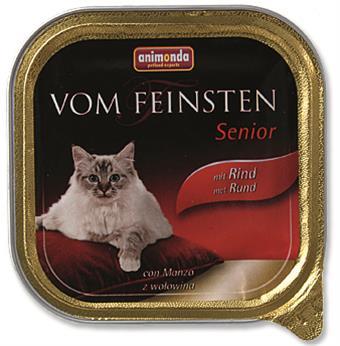 Animonda VomFeinsten cat van. Senior - hovězí 100 g