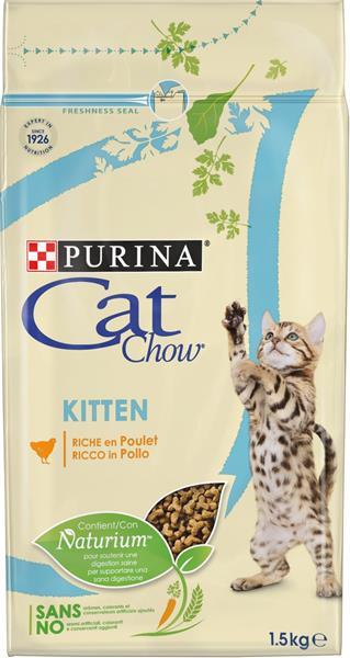 Purina Cat Chow Kitten - kuře 1,5 kg