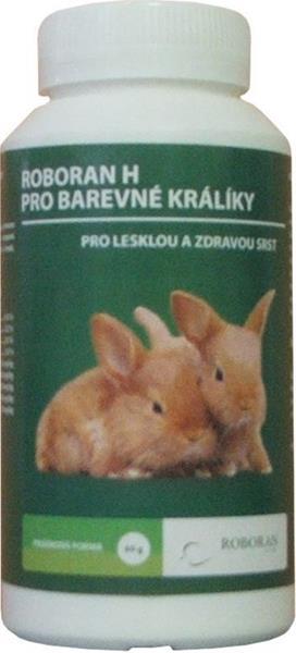 Roboran H pro králíky barevné plv 60 g