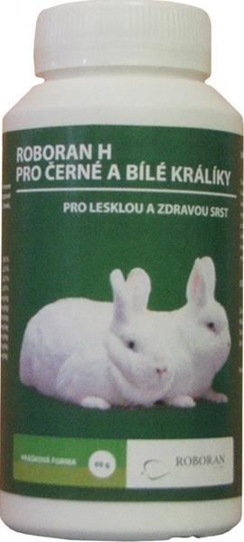 Roboran H pro králíky černé a bílé plv 60 g