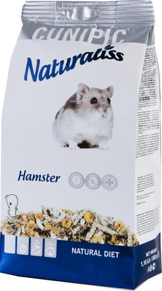 Cunipic Naturaliss Hamster - křeček 500 g