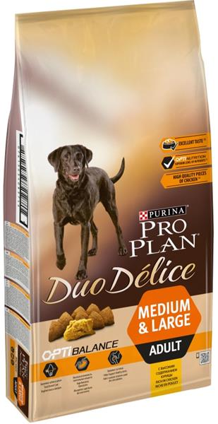 PRO PLAN Dog Adult Duo Délice Chicken 10 kg