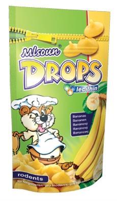Mlsoun hlod. Drops - banán 75 g