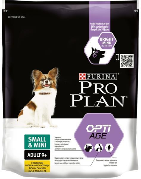 PRO PLAN Dog Adult Small&Mini 9+ 700 g