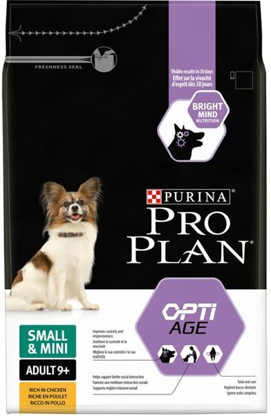 PRO PLAN Dog Adult Small&Mini 9+ 3 kg