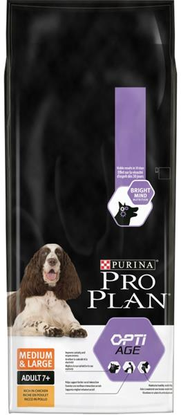 PRO PLAN Dog Adult Medium&Large 7+ 14 kg