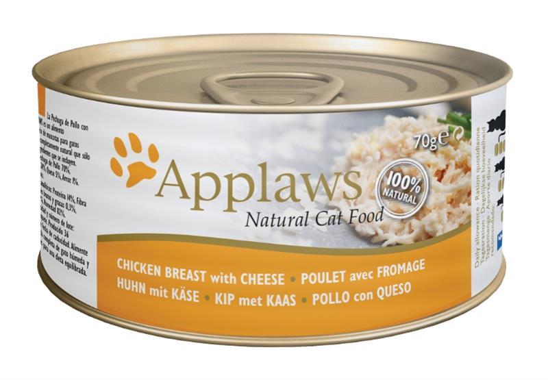 Applaws Cat konz. kuřecí prsa a sýr 70 g