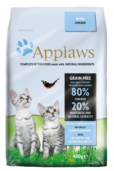 Applaws Cat Dry Kitten Chicken 400 g