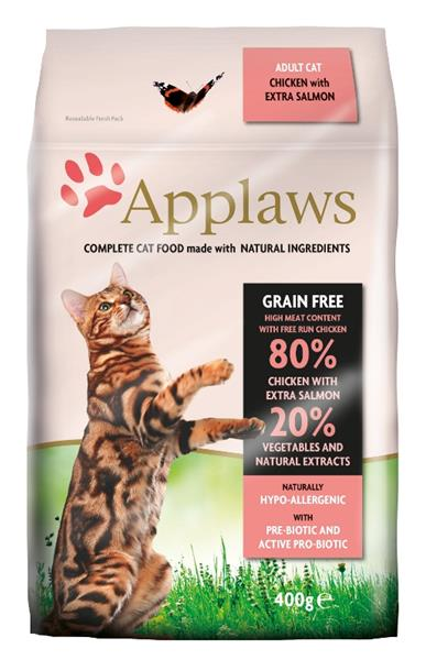 Applaws Cat Dry Adult Salmon 400 g