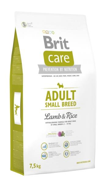 Brit Care Dog Adult Small Breed Lamb & Rice 7,5 kg