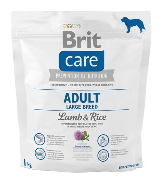 Brit Care Dog Adult Large Breed Lamb & Rice 1 kg