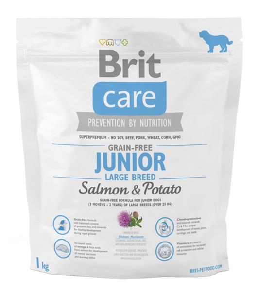 Brit Care Grain Free Dog Junior Large Breed S & P 1 kg
