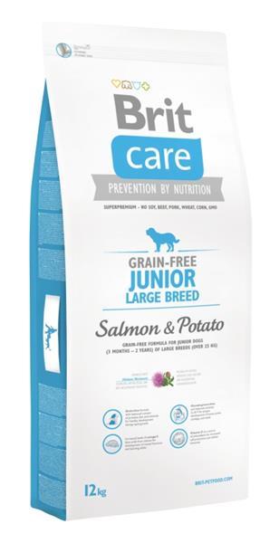 Brit Care Grain Free Dog Junior Large Breed S & P 12 kg