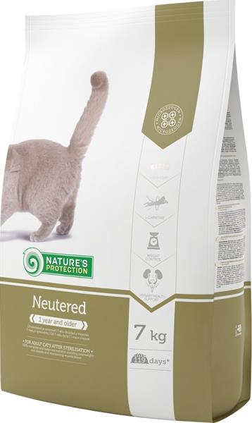 Nature's Protection Cat Dry Neutered/Sterilised 7 kg