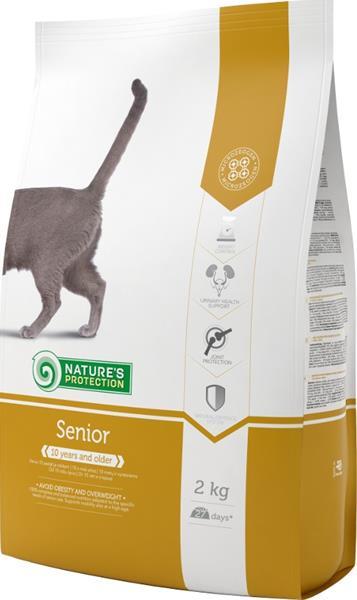 Nature's Protection Cat Dry Senior 2 kg