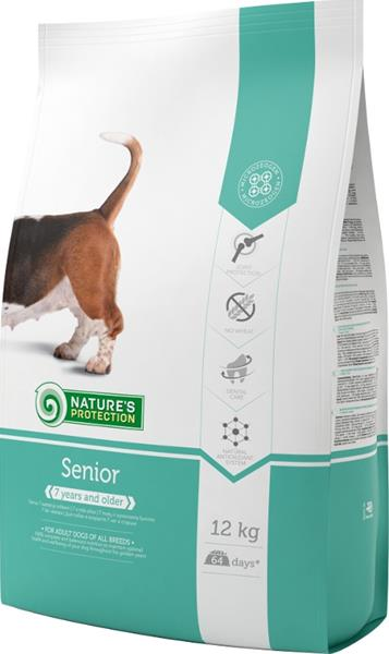 Nature's Protection Dog Dry Senior 12 kg
