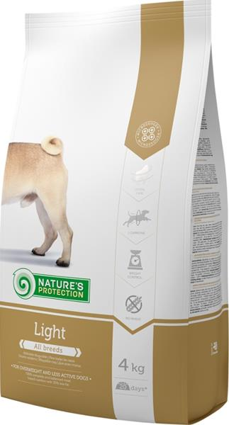 Nature's Protection Dog Dry Light 4 kg