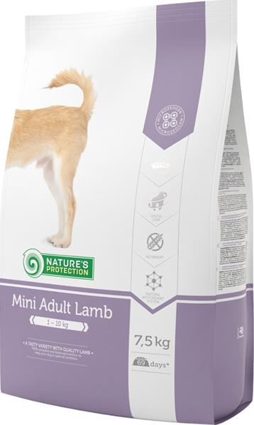 Nature's Protection Dog Dry Adult Mini Lamb 7,5 kg